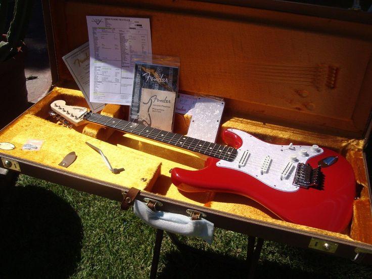 2016 Fender Custom Shop Stratocaster Dave Murray Spec HHH Floyd Rose Iron Maiden