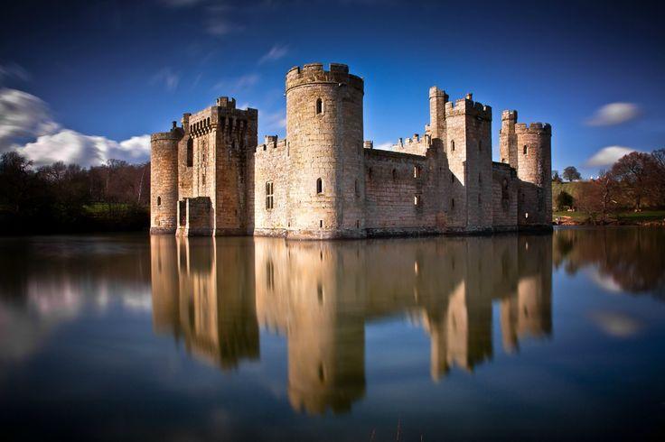 Bodiam Castle, Robertsbridge, UK