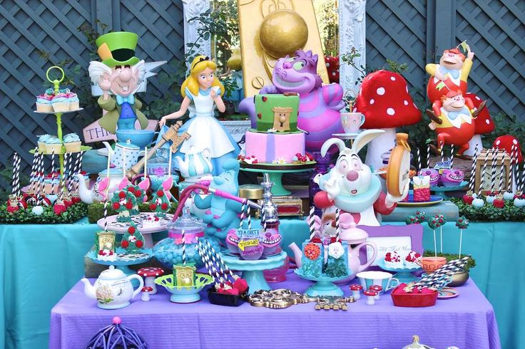 Alice in Wonderland Birthday Party Ideas | Photo 1 of 90 | Catch My Party