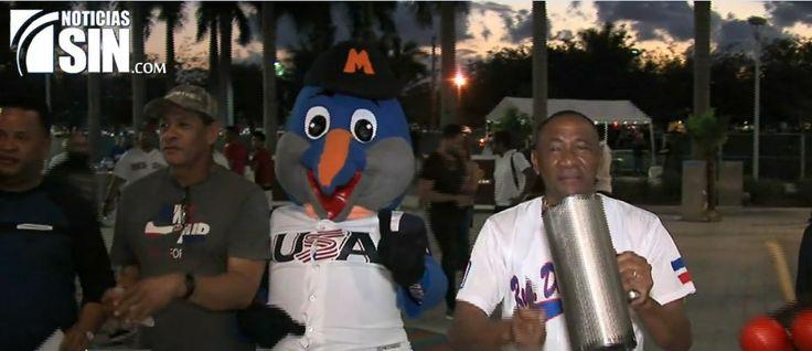 República Dominicana y Estados Unidos se enfrentan hoy en el Clásico Mundial de Béisbol