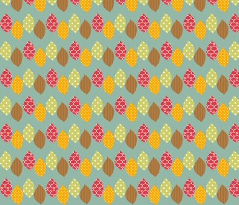 apple_leaf fabric by petunias on Spoonflower - custom fabric