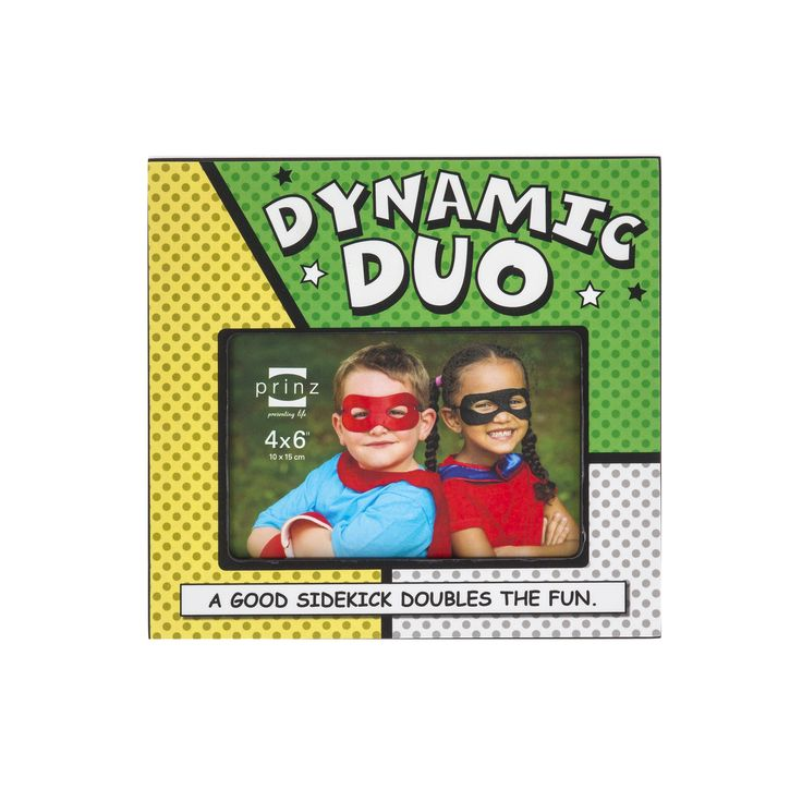 6x4 Dynamic Duos 'Duo' Wood Frame