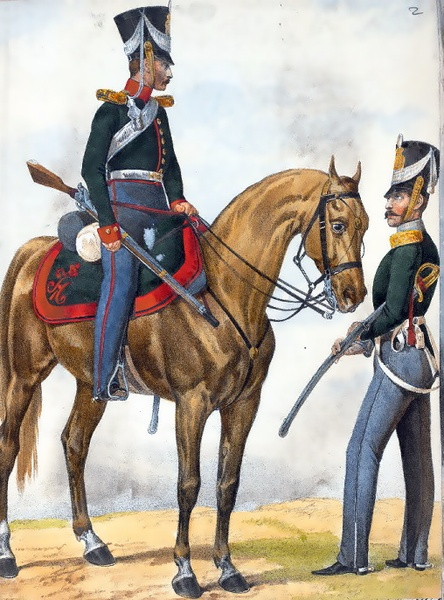 File:Russian soldiers from 1827.PNG