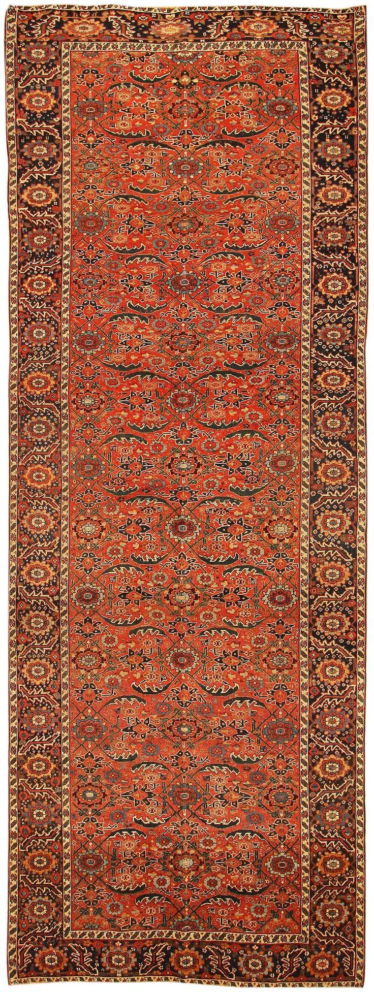 Antique Persian Bidjar Rug 43782