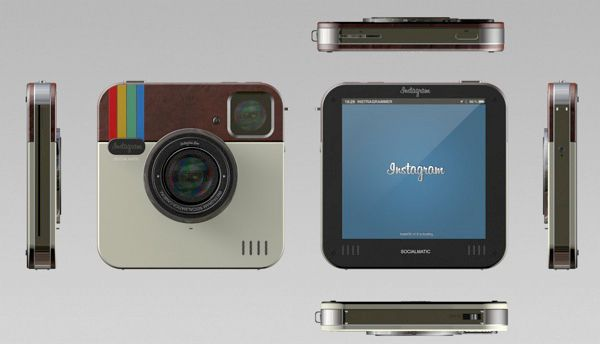 Instagram socialmatic camera all sides photo - I would totally buy this.
