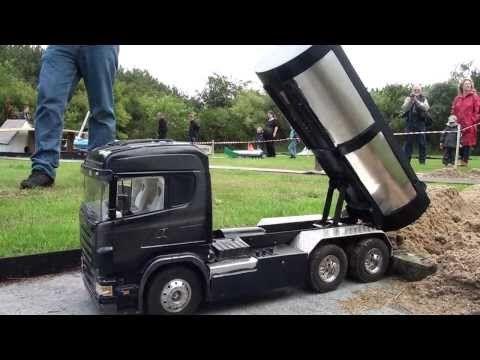 Rc Trucks (Træf på Års Camping 2013 En mand og hans Vabis) - YouTube