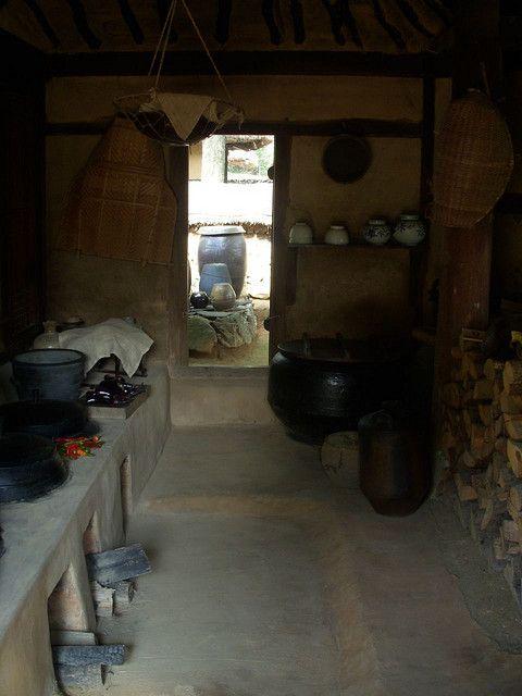 Old Korean kitchen