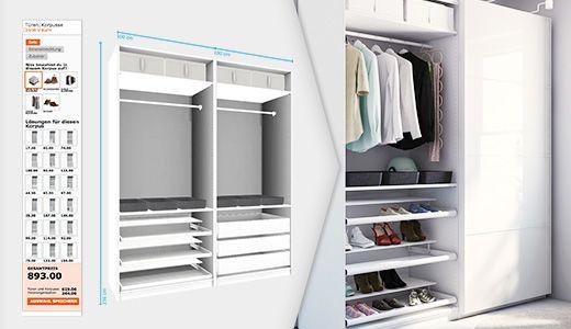 die besten 25 pax kleiderschrank planer ideen auf. Black Bedroom Furniture Sets. Home Design Ideas