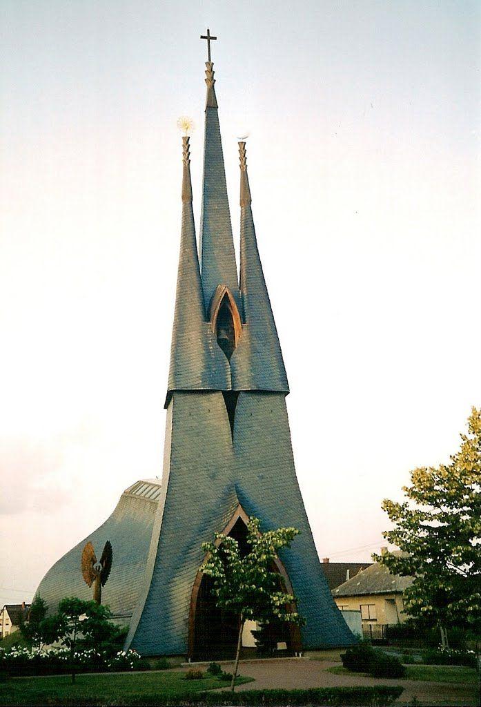 Holy Spirit Church, Paks, Hungary.
