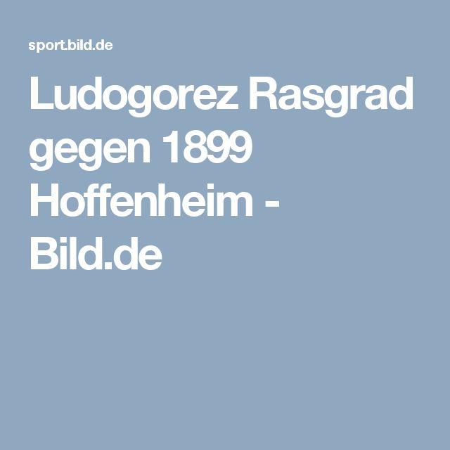 Ludogorez Rasgrad gegen 1899 Hoffenheim     -  Bild.de