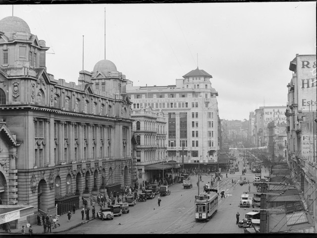 Central Auckland Post Office Auckland 1920's