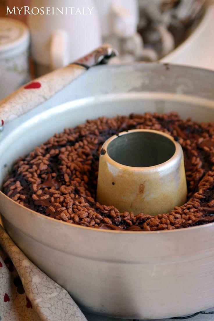 My RoseinItaly: Torta al cioccolato e riso soffiato