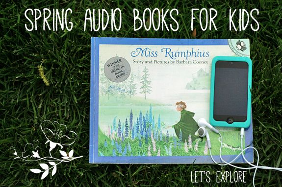 Spring Audio Books for Kids | Lets Explore