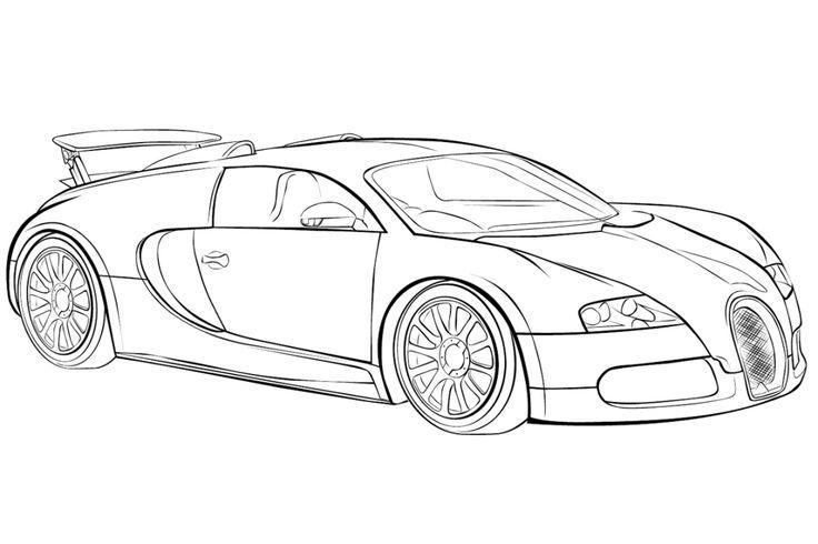 Bugatti Chiron Ausmalbilder 472