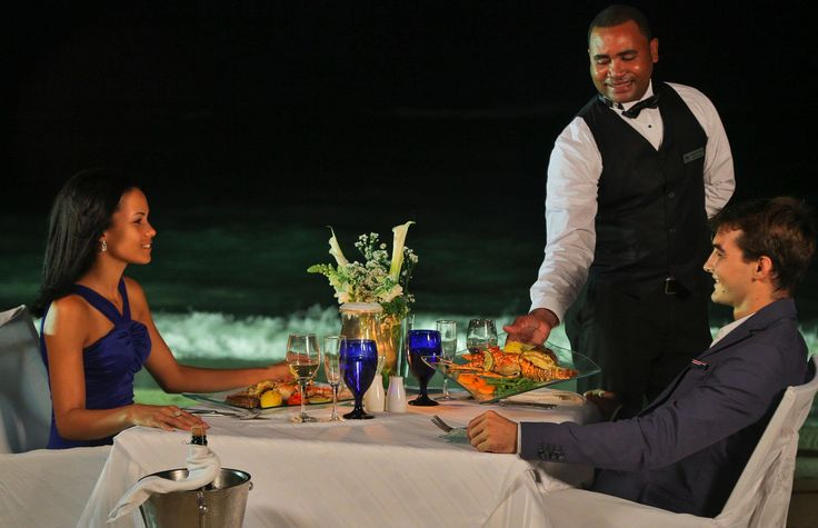 Moonlit Dinner on the beach, Lifestyle Vacation, Dominican Republic