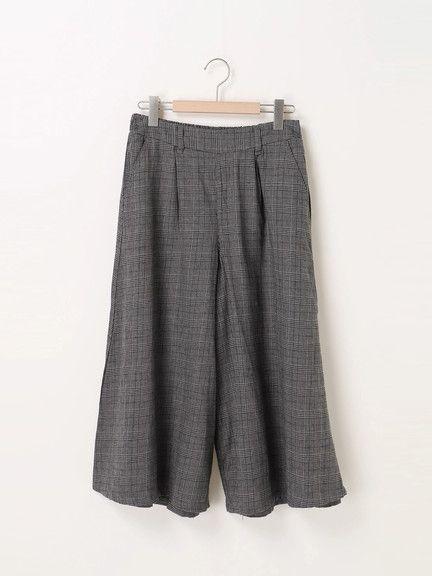 綿麻スカーチョ/ Samansa Mos2(サマンサ モスモス)のボトムス|ファッション通販サイトのCAN ONLINE SHOP(キャンオンラインショップ) - CAN ONLINE SHOP