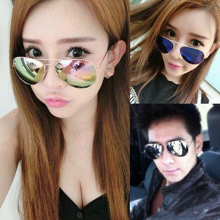 Envío Gratis 2017 Hot aviator gafas de Sol para mujeres de los hombres oculos UV400 ray diseñador de la marca de moda de lujo de la vendimia