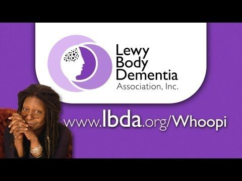 Whoopi Goldberg Lewy Body Dementia PSA - YouTube #alzheimers #tgen #mindcrowd www.mindcrowd.org