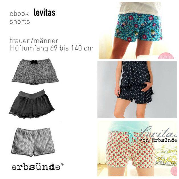 Levitas ist eine bequeme Shorts für Männer und Frauen.  Ob als Sommershorts, als Unterwäsche- oder Pyjama-Boxer oder als kurze Sporthose. Genäht werden kann Levitas sowohl aus nicht dehnbarer...
