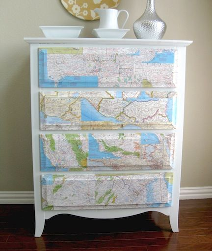 25 Map Crafts