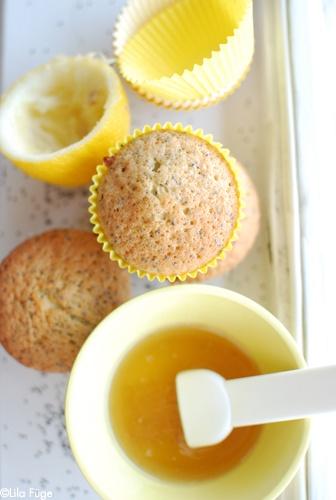lemon-poppy muffins
