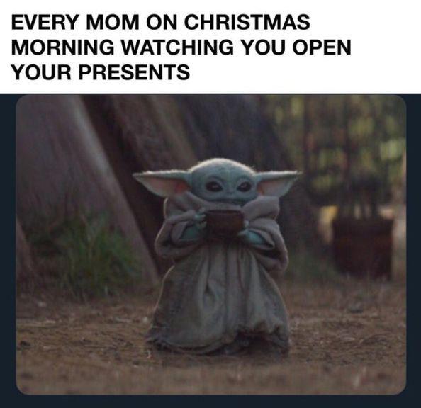 Merry Christmas To All Ye Misfits 75 Photos Funnyfoto In 2020 Yoda Meme Funny Good Morning Memes Star Wars Memes