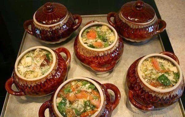 Жаркое из курицы по-русски | Школа шеф-повара