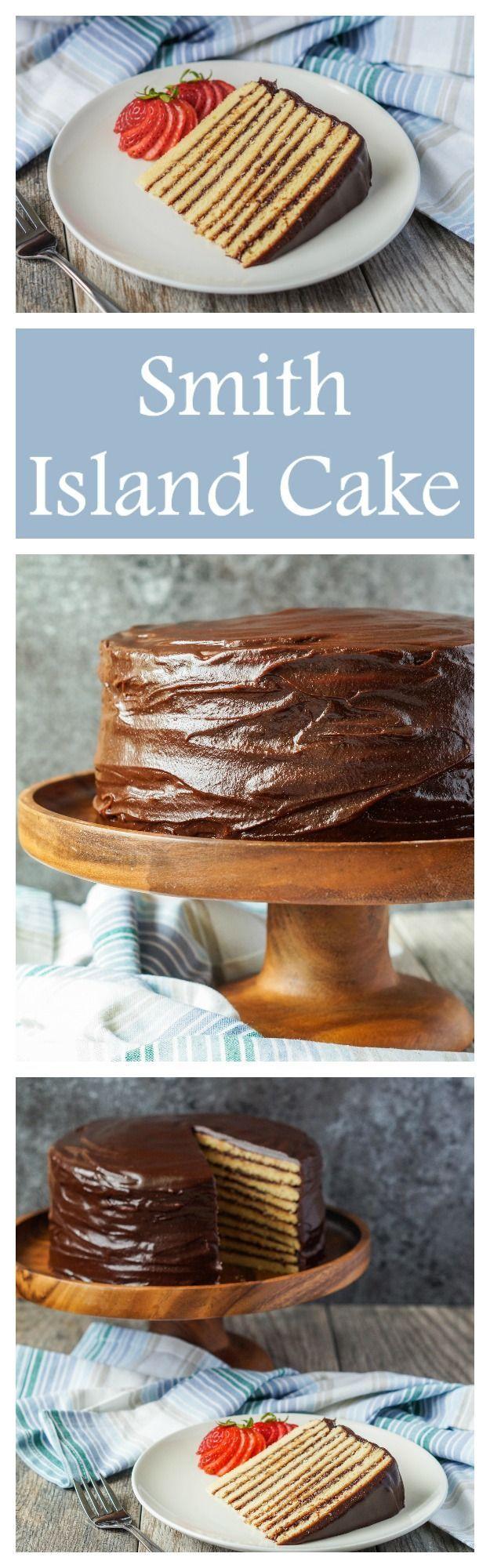 Smith Island Cake  #cake #dessert #smithisland #maryland #chocolate
