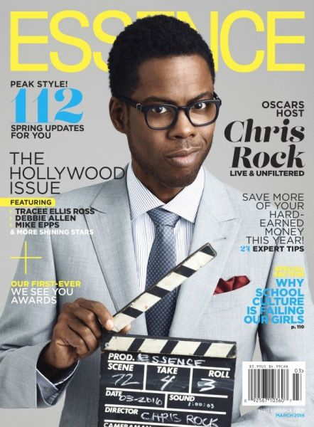 Chris Rock BLASTS Hollywood Over Race in ESSENCE Magazine
