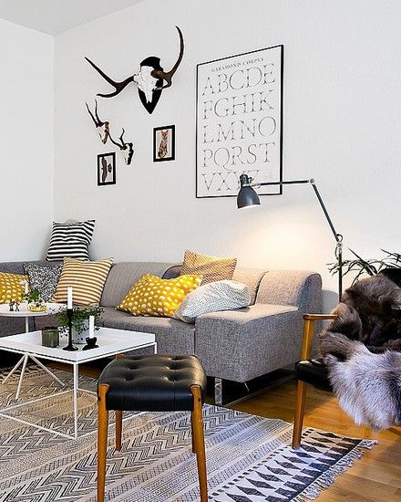 Shake My Blog | Un appartement à la déco retro