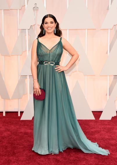 America Ferrera in Jenny Packham 2015 Oscars
