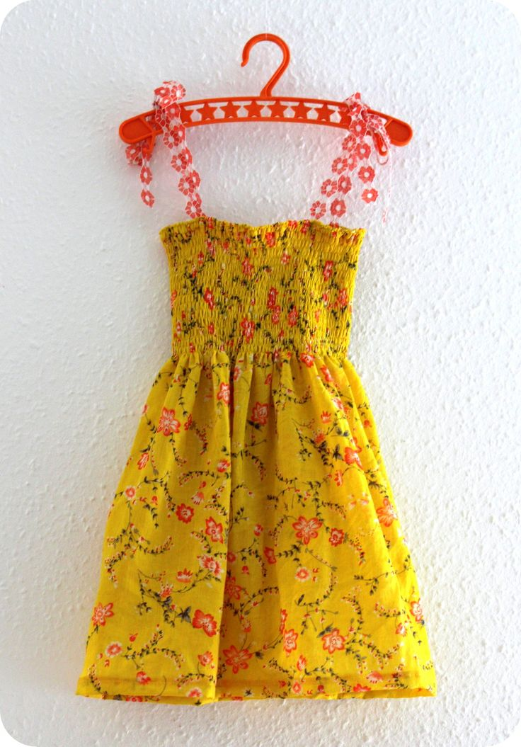 DIY tuturial smock dress by Laralil