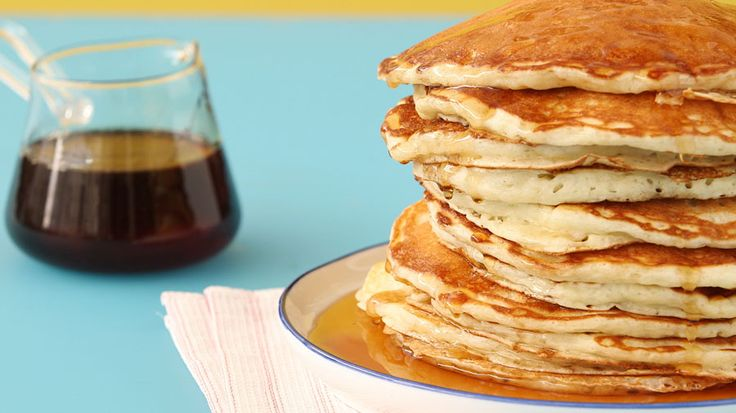 "Nothing says ""weekend"" like pancakes for breakfast, but the urge for pancakes can strike at any time, so here's an easy recipe with ingredients you're likely to have on hand to make the perfect pancakes every time."