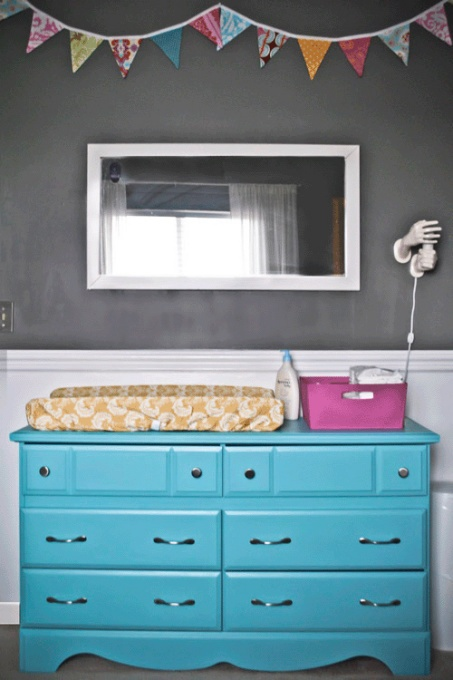 paint the changing table this color