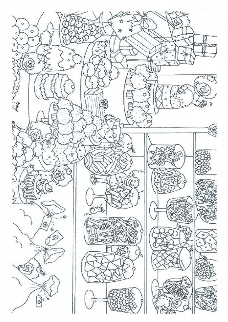 Werkblad visueel: spiekpietjes zoeken