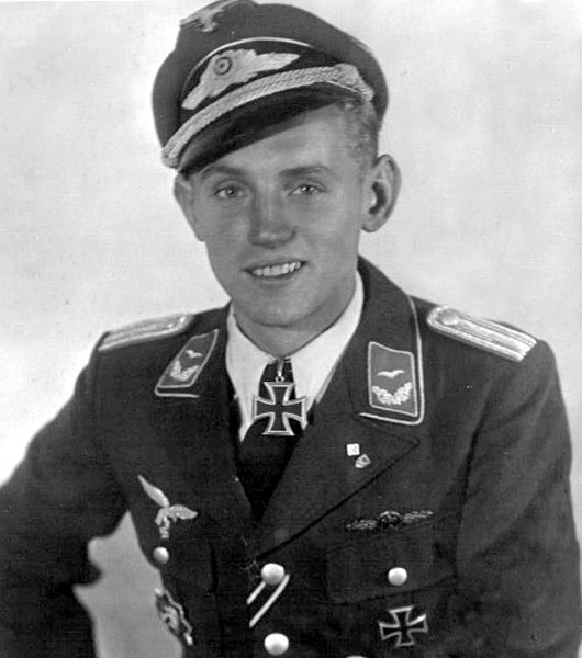 "Erich Hartmann, nicknamed ""Bubi"" by his comrades and the  ""Black Devil"" by his Soviet adversaries, was a German fighter pilot during WW II."