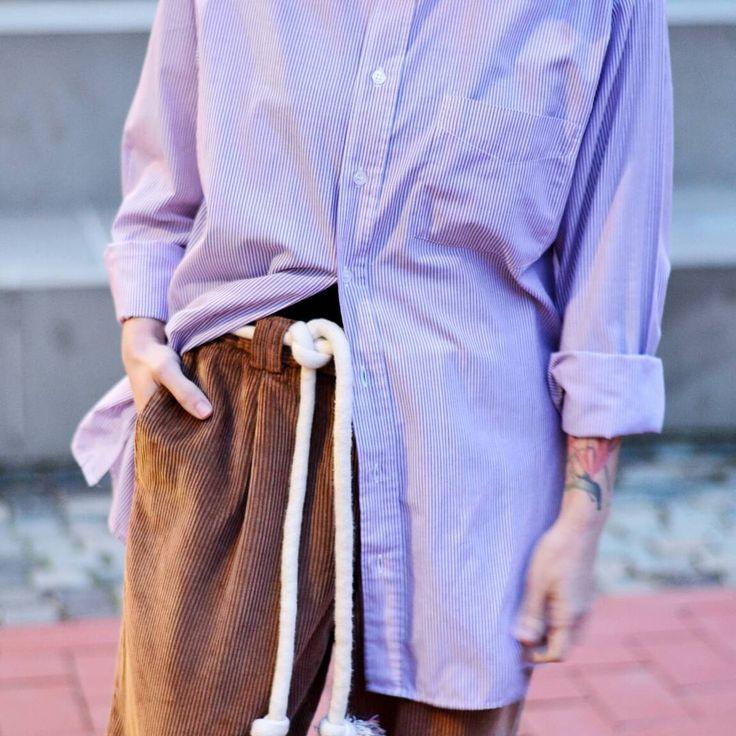 #tombabe #tomboy #shirt #boyfriendfit #corduroy #antifit #streetfashion #streetwear #urban #fashion #women