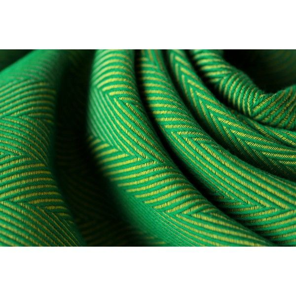 Geweven doek - Yaro Yolka green (maat 7)