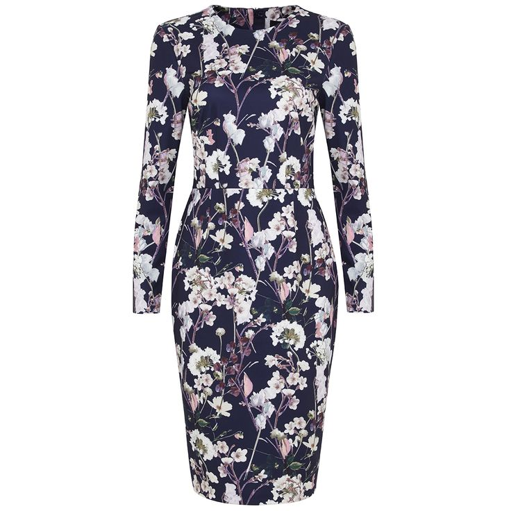 The perfect floral dress for Autumn and Winter parties? It's £55 at @marksandspencer now.