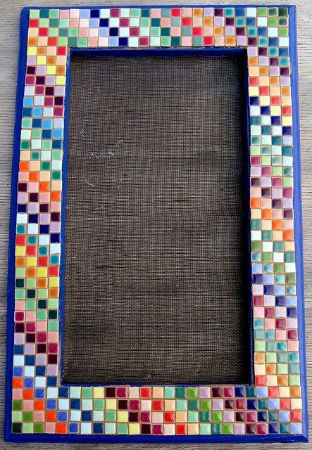 Earring Holder Mosaic Frame | Flickr - Photo Sharing!
