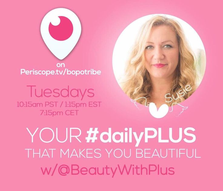 #dailyplus with Susie on the Bopochannel