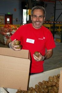 "Jeff Rangel at Brocade is a passionate advocate for hunger relief. ""(We) have a duty to help, and to get the people in our social and professional networks to help as well."""