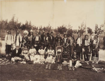 a description of the ute group of indians Chipeta: ute peacemaker thoughts on  he offered a sarcastic description of  a delegation of twelve ute indians gathered on horseback at los pinos agency.