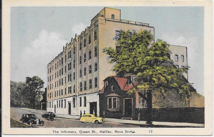 THE Infirmary Queen ST Halifax Nova Scotia Postcard | eBay