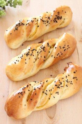 HB使用♡スイートポテトパン(お芋パン)
