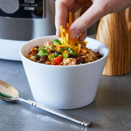 Recipes | Ground Chicken and Bean Chili | Sur La Table
