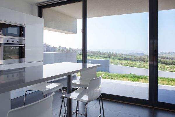 Carina Villas Portugal - From the kitchen you have a tremendous view on the surrounding area.