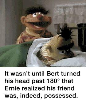 A Nightmare of Sesame Street.