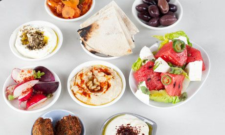 honey & co. to try. Nine dishes of mezze at Honey and Co