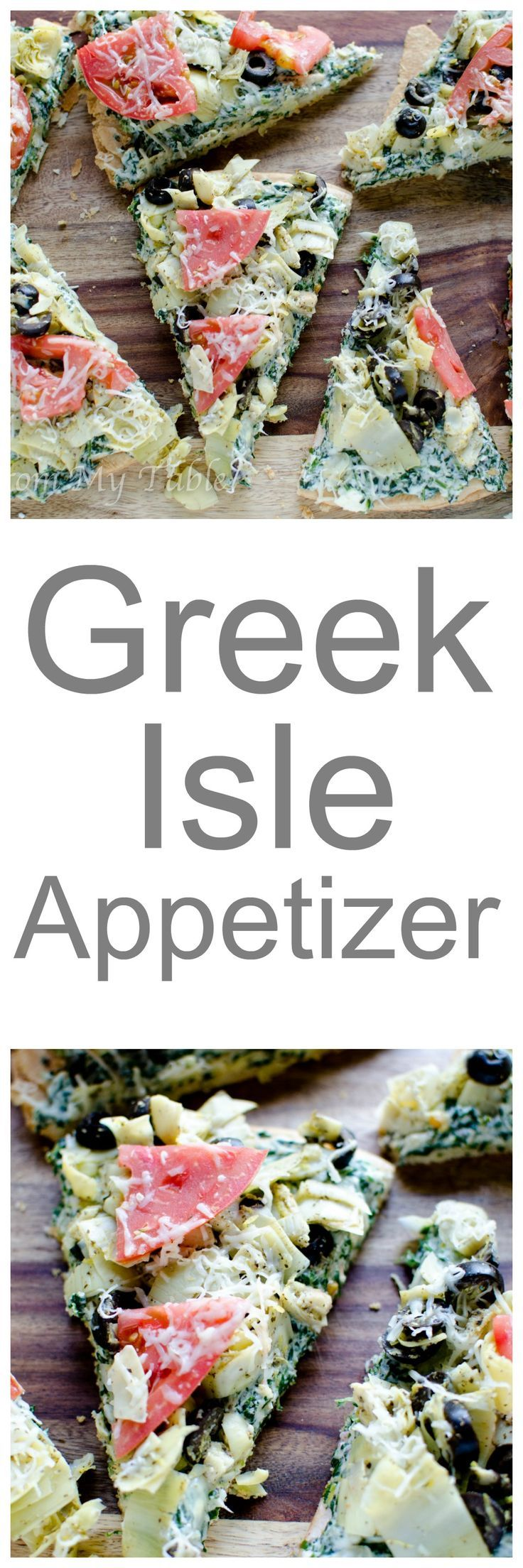 Need a quick and easy appetizer? This Greek Isle appetizer will not disappoint! Mediterranean flavors atop a flaky secret ingredient crust! Bet you can't eat just one piece! This perfect for your next gathering or whip it up for an afternoon of football.